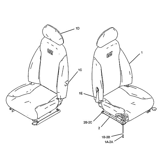 229-9090: Seat Assembly