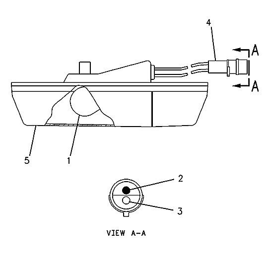 7X-6399: Dome Lamp Assembly