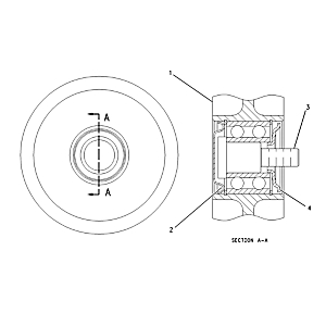 175-3223: Pulley Assembly-Idler