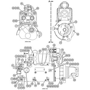 478-9867: MOTOR GP-ELE