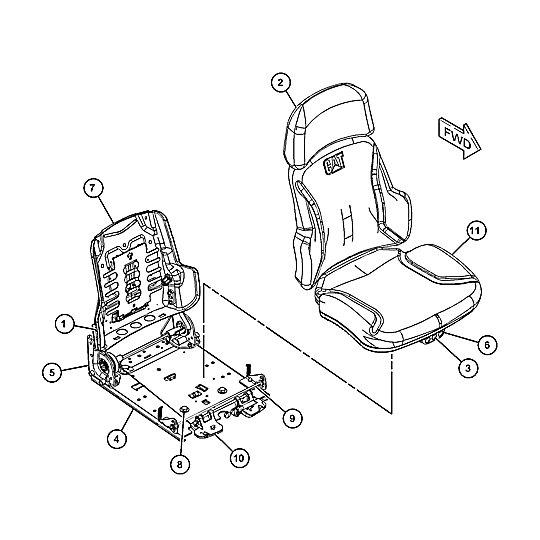 489-6481: Seat Group-Suspension