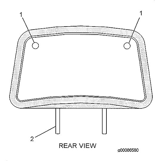 8Y-6883: Extension Assembly-Backrest
