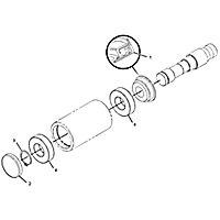265-7675: Carrier Roller Assembly
