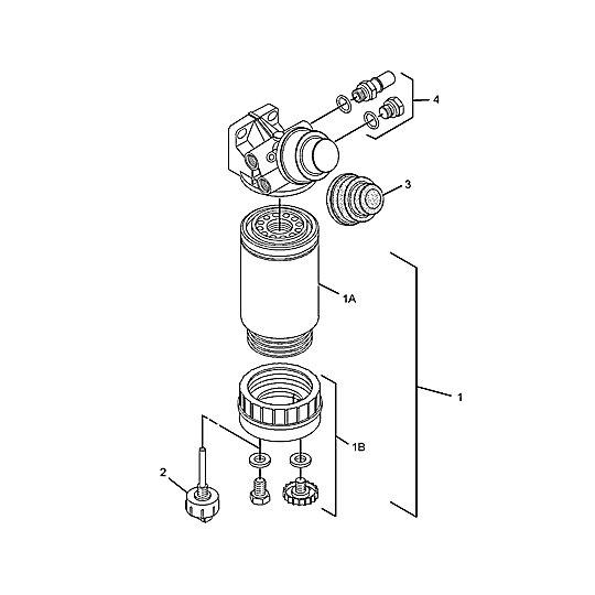 318-8064: Fuel Filter