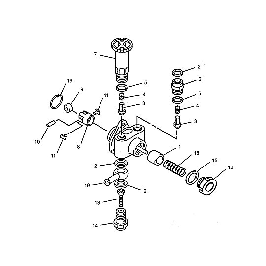 118-6814: Fuel Transfer and Priming Pump Assembly