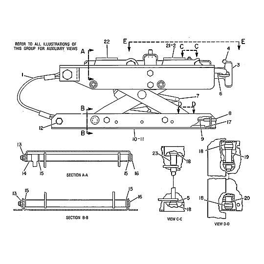 9V-7924: Suspension Assembly-Seat