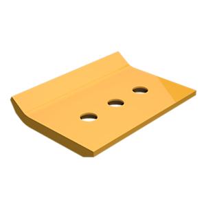 233-7167: 安装在顶部的耐磨板铲刃保护