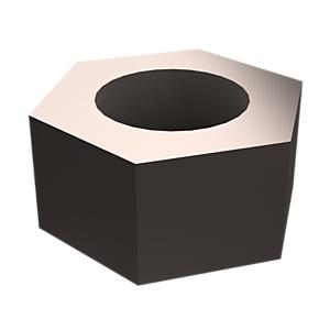 8T-4133: 8T-4133, 육각 너트, 아연 도금