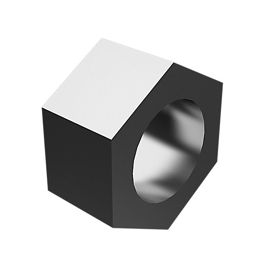 7X-0451: Hex Head Nut