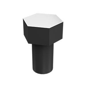 5P-8167: Pernos de cabeza hexagonal con revestimiento de zinc