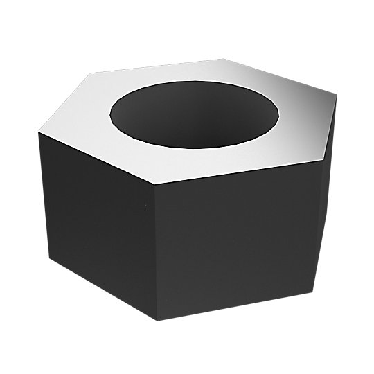 5S-0003: Hex Head Nut
