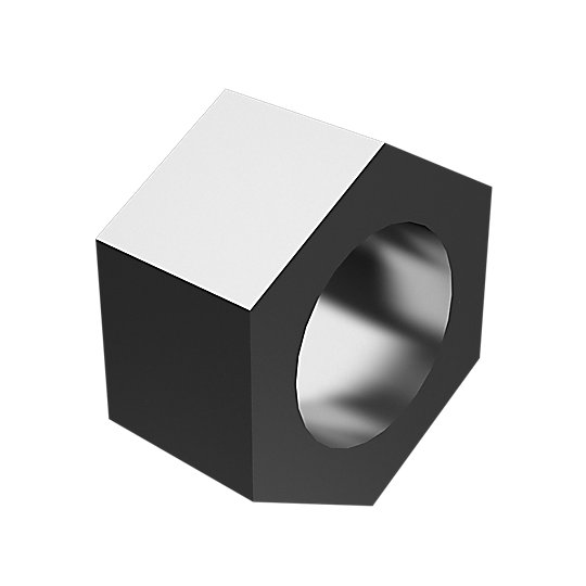 7X-0851: Hex Head Nut