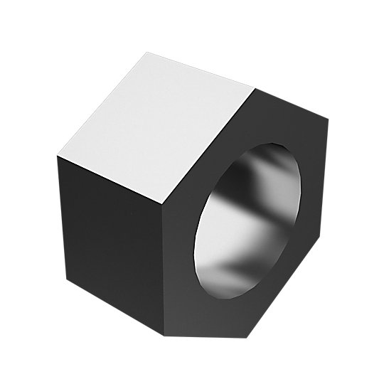 7X-0449: Hex Head Nut