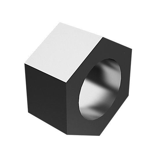 3S-1356: Hex Head Nut