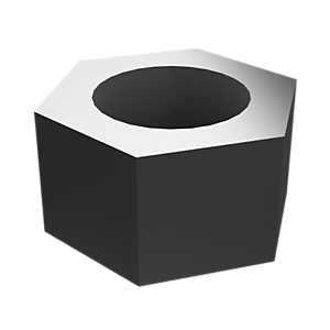 2J-3507: Hex Head Nut