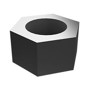 2J-3506: Hex Head Nut