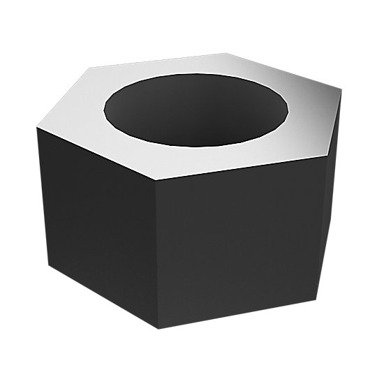9S-8216: Hex Head Nut