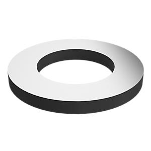 8C-6913: Arandela plana con zinc lamelar