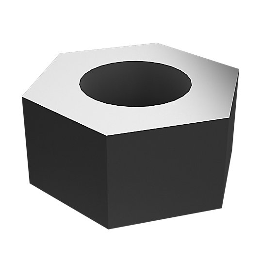 6V-8185: Hex Head Nut