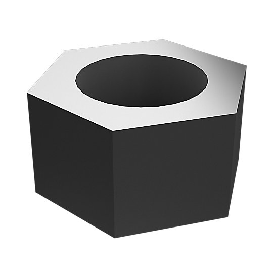 6V-8182: Hex Head Nut