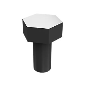 5S-7349: Pernos de cabeza hexagonal con revestimiento de zinc