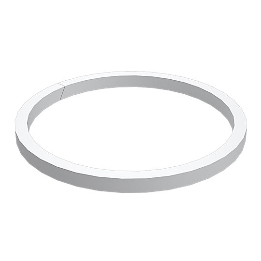 128-3732: Split Backup Ring