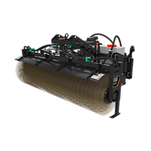BA25  Hydraulic Angle Broom 24V with Water