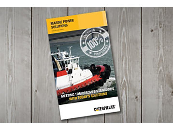2018 Caterpillar Marine Power Solutions Guide