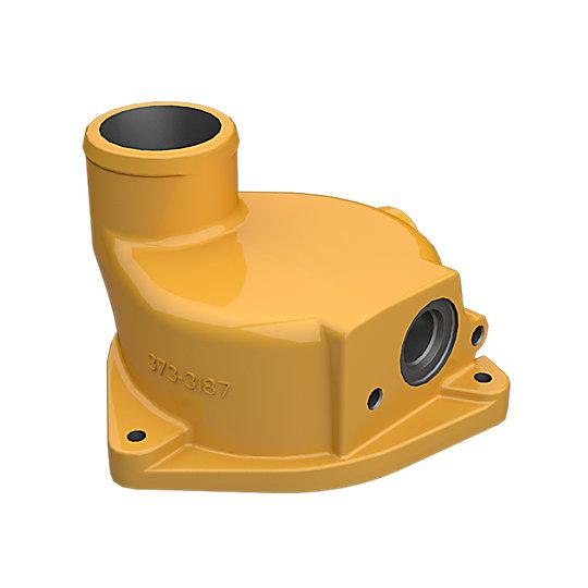 373-3187: Bonnet-Oil Cooler