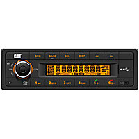 Cat® Replacement Radios · AM-FM Rugged Radios · Caterpillar