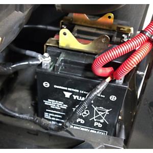 Extra Battery Holder