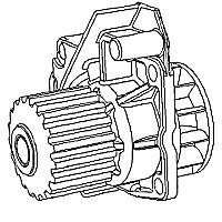 Cat® Water Pumps · Engine Waterpump · Caterpillar