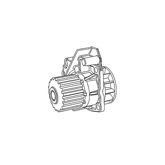 562-0505: COOLANT PUMP