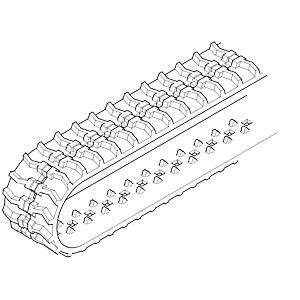 473-3014: Courroie de chaîne en caoutchouc