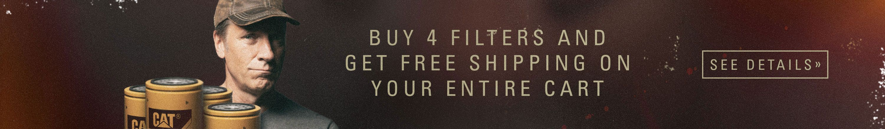Buy 4 Filters Get Free Shipping