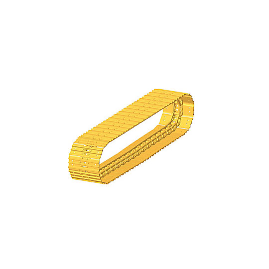 263-9239: Mini Hydraulic Excavator Track with Triple Grouser