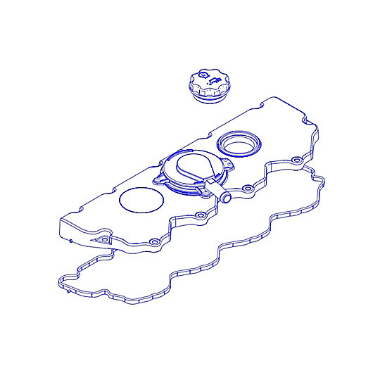 301-8253: Cover Assembly-Cylinder