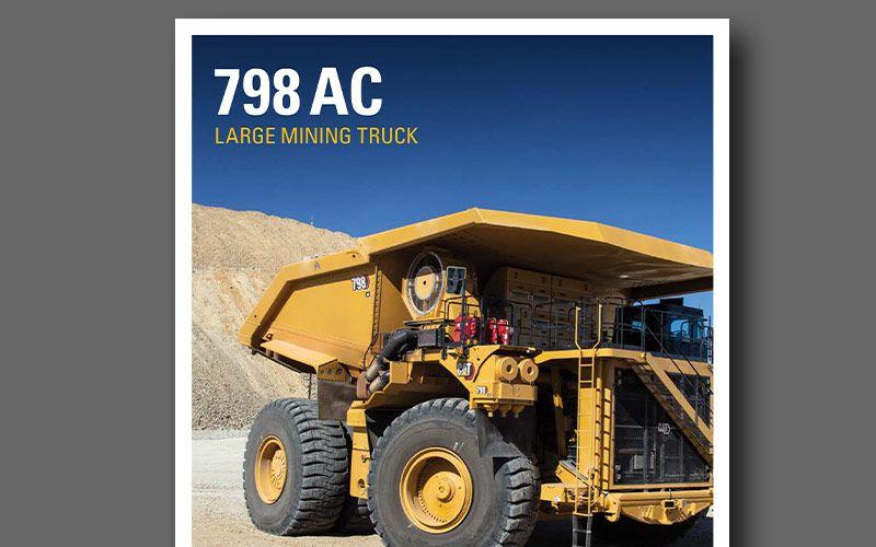 798 AC mining truck brochure